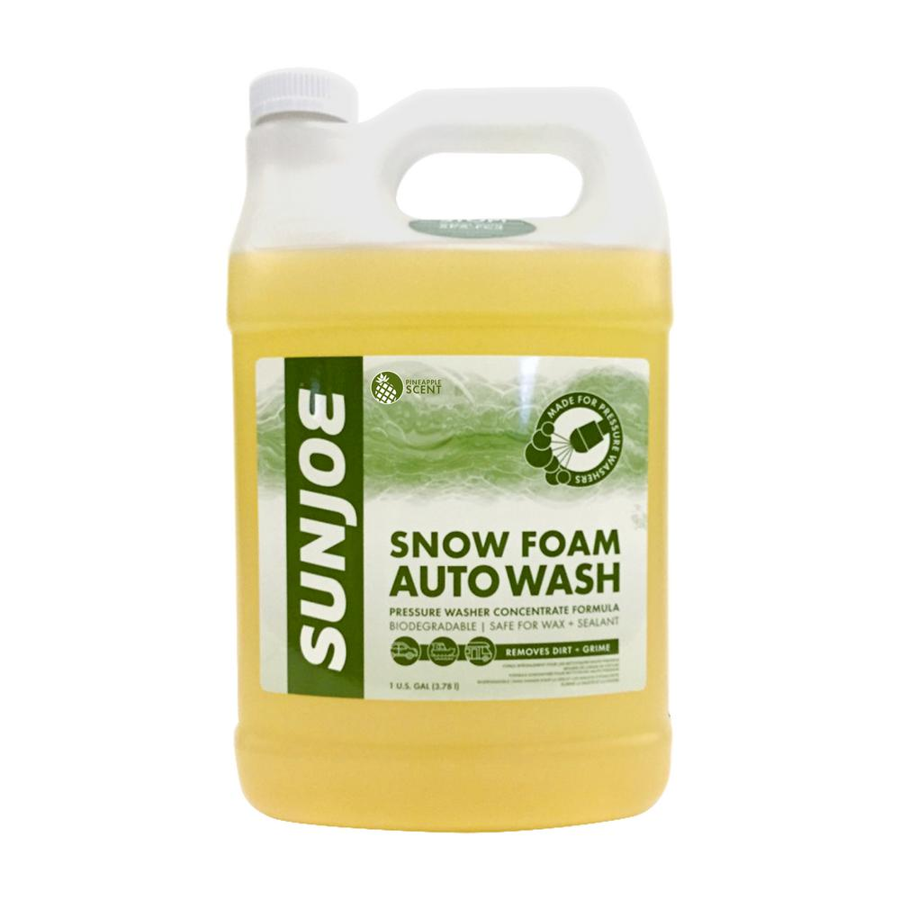 Foam Cannon Soap >> Sun Joe 1 Gal Premium Snow Foam Cannon Pineapple Pressure Washer