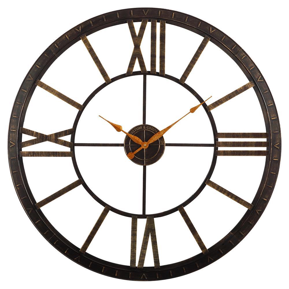 Big Time 40 in. Wall Clock