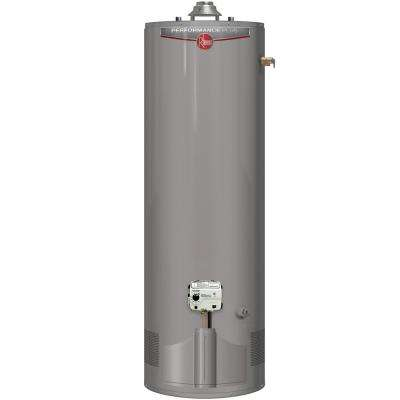 Performance Plus 40 Gal. Tall 9 Year 38,000 BTU Ultra Low NOx (ULN) Natural Gas Tank Water Heater