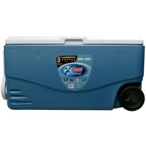 Click here to buy Coleman Xtreme 2-Wheeled 100 Qt. Cooler by Coleman.