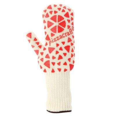 Pizza Mitt with Heat Resistant Aramid Fibers