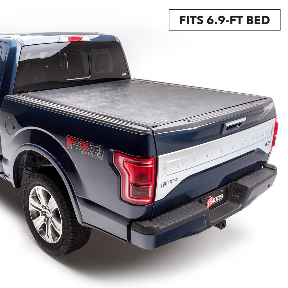 Bak Industries Revolver X2 Tonneau Cover For 99 07 F250 350 450 6 Ft 9 In Bed 39303 The Home Depot