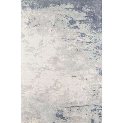 Illusions Blue 8 ft. x 10 ft. Indoor Area Rug