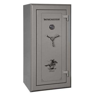 Treasury 26 cu. ft. 26-Gun 90 Minute Fire Resistant U.L. Mechanical Lock Gun Safe Gunmetal
