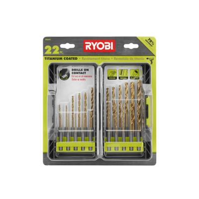 Titanium Drill Bit Kit (22-Piece)