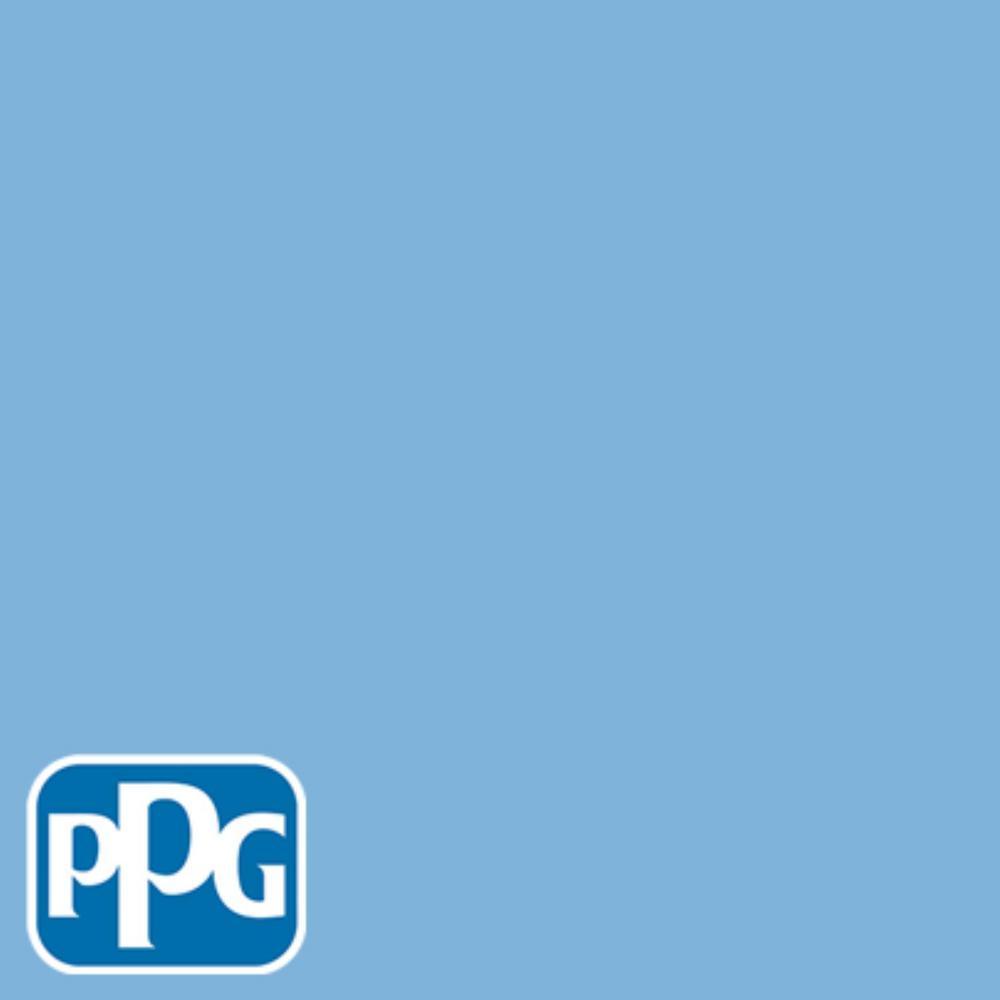 PPG TIMELESS 8 oz. #HDPPGV02U Blue Collar Satin Interior/Exterior Paint Sample