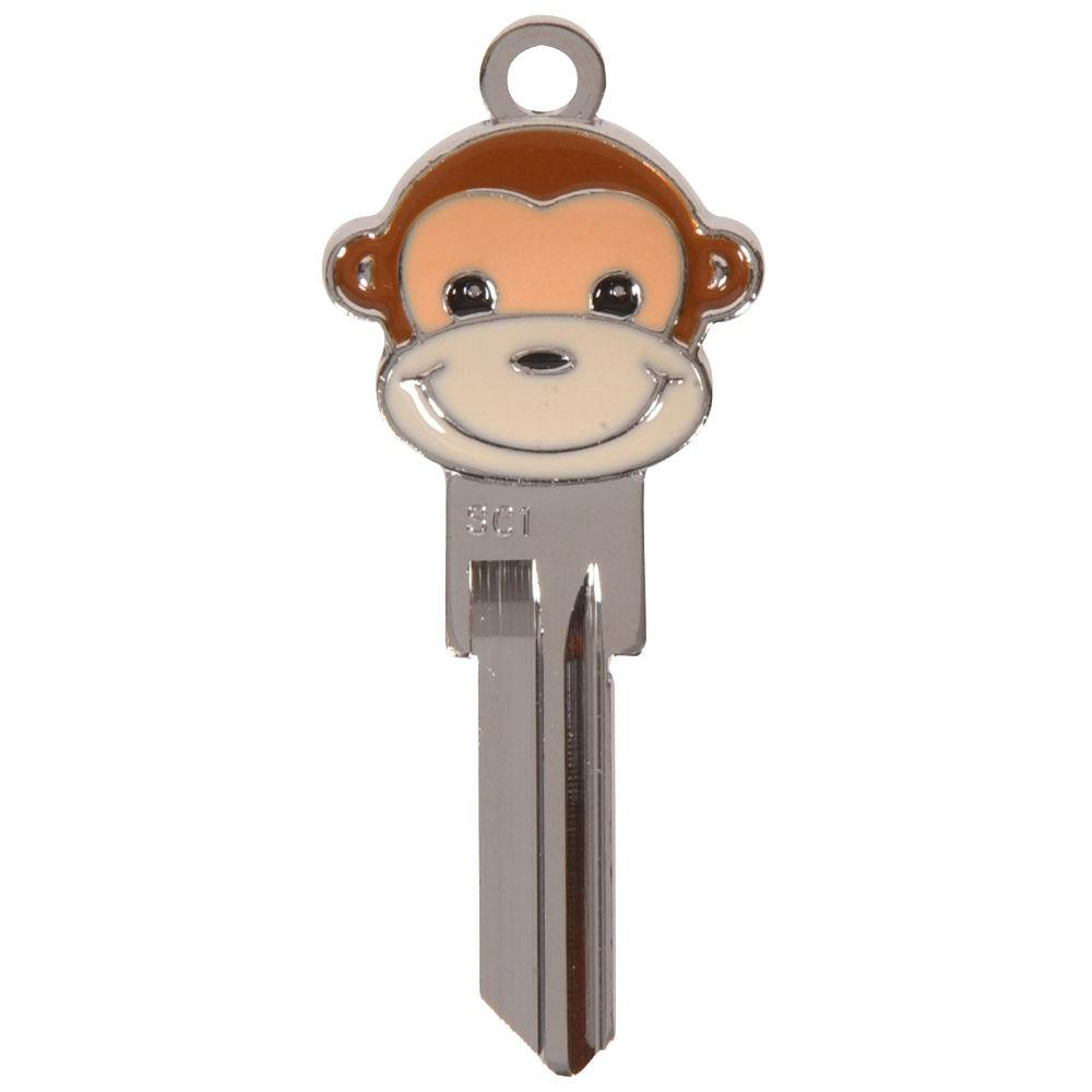 The Hillman Group #68 3D Monkey Key-87519 - The Home Depot