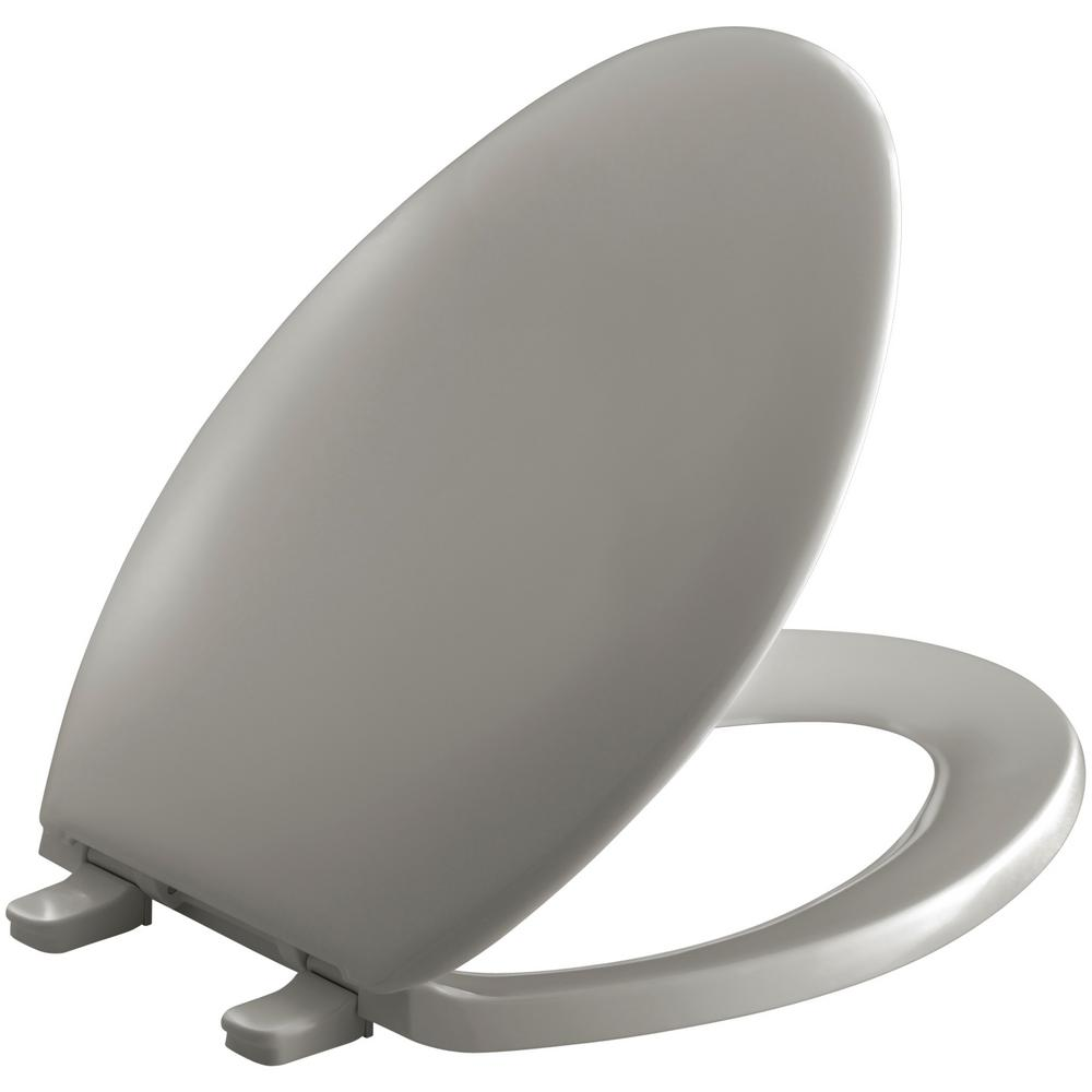Bancroft Elongated Closed Front Toilet Seat in Cashmere