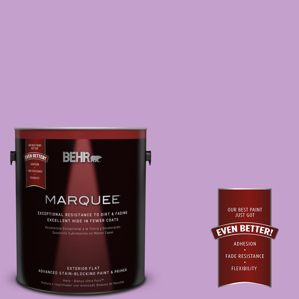 1-gal. #P100-4 Lover's Knot Flat Exterior Paint