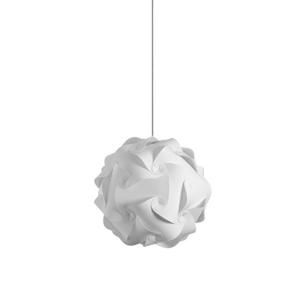 Catherine 1-Light White Pendant