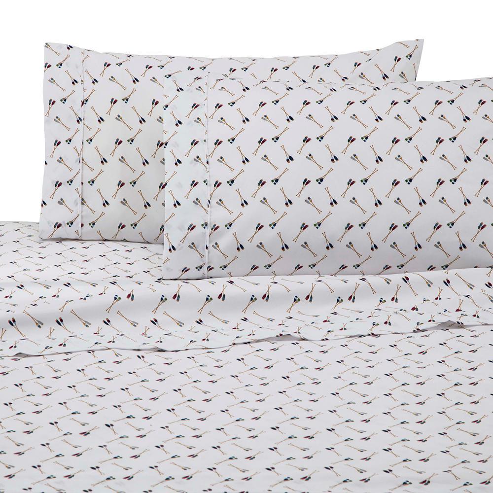 Novelty Multi Polyester Twin Sheet Set
