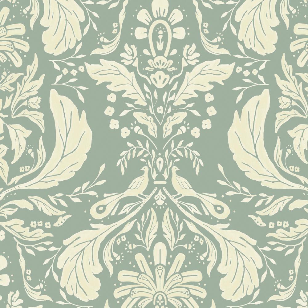 Pietro Damask Fabric by the Yard