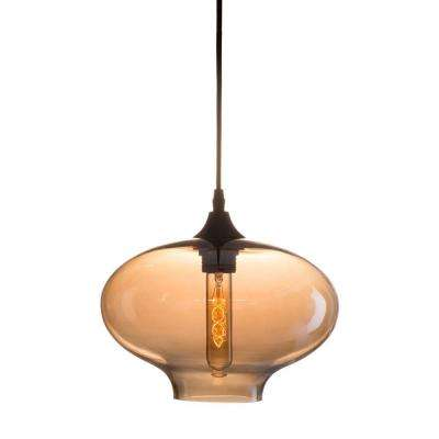 Borax 1-Light Tea Ceiling Lamp