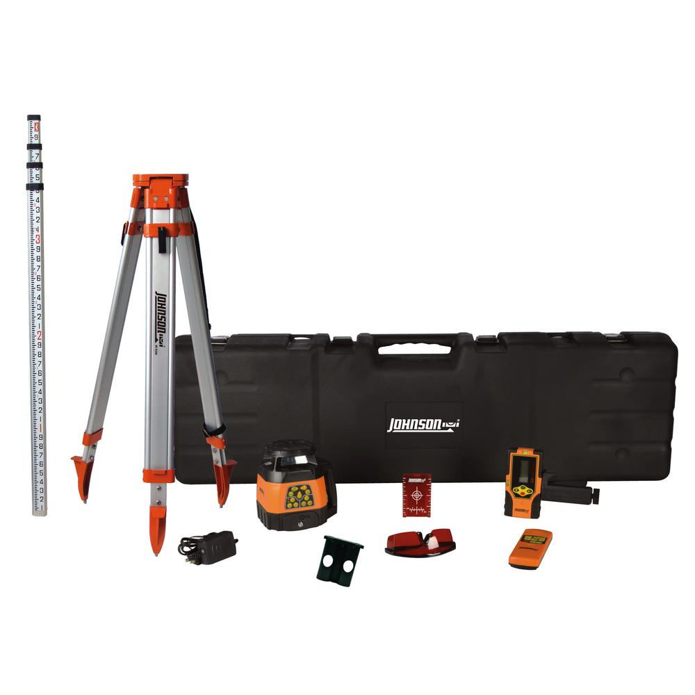 Electronic Dual Slope Rotary Laser Level System