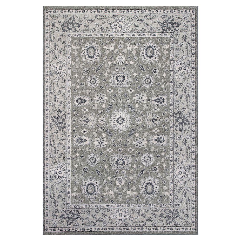 KAS Tonal Tradition Beige/Grey 7 ft. 10 in. x 11 ft. 2 in...