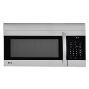 LG Electronics 1.7 cu. ft. Over-the-Range Microwave Oven in Stainless Steel with EasyClean
