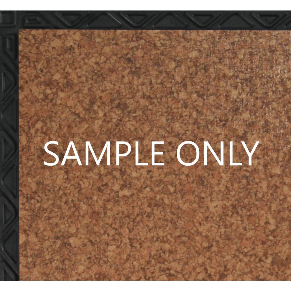 Take Home Sample - Cork Resilient Vinyl Plank Flooring - 18.5 in. x 9.25 in.