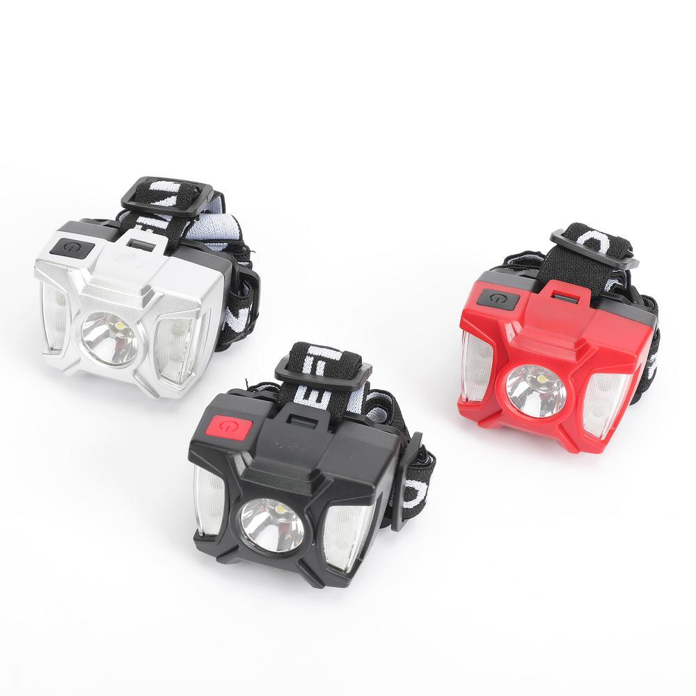 Defiant 80 Lumens LED Headlights (3-Pack)
