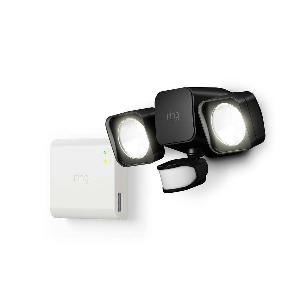 Ring 7 Watt Equivalent Integrated Led Black Smart Lighting