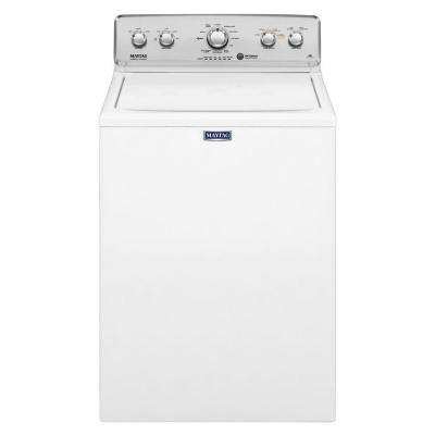 4.2 cu. ft. High-Efficiency Top Load Washer in White with Deep Water Wash and PowerWash
