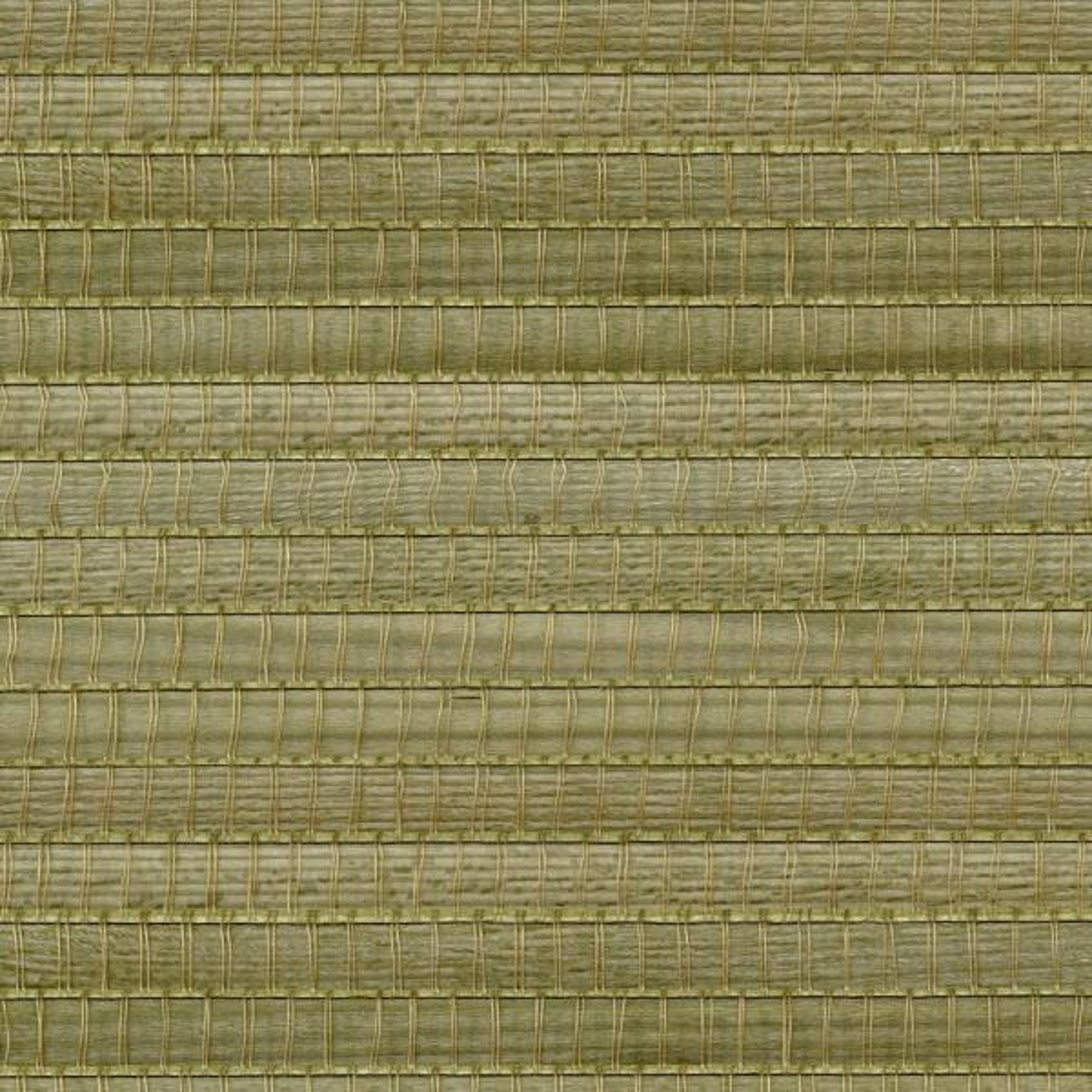 Kenneth James Gisei Green Grasscloth Wallpaper Sample 2693-54729SAM
