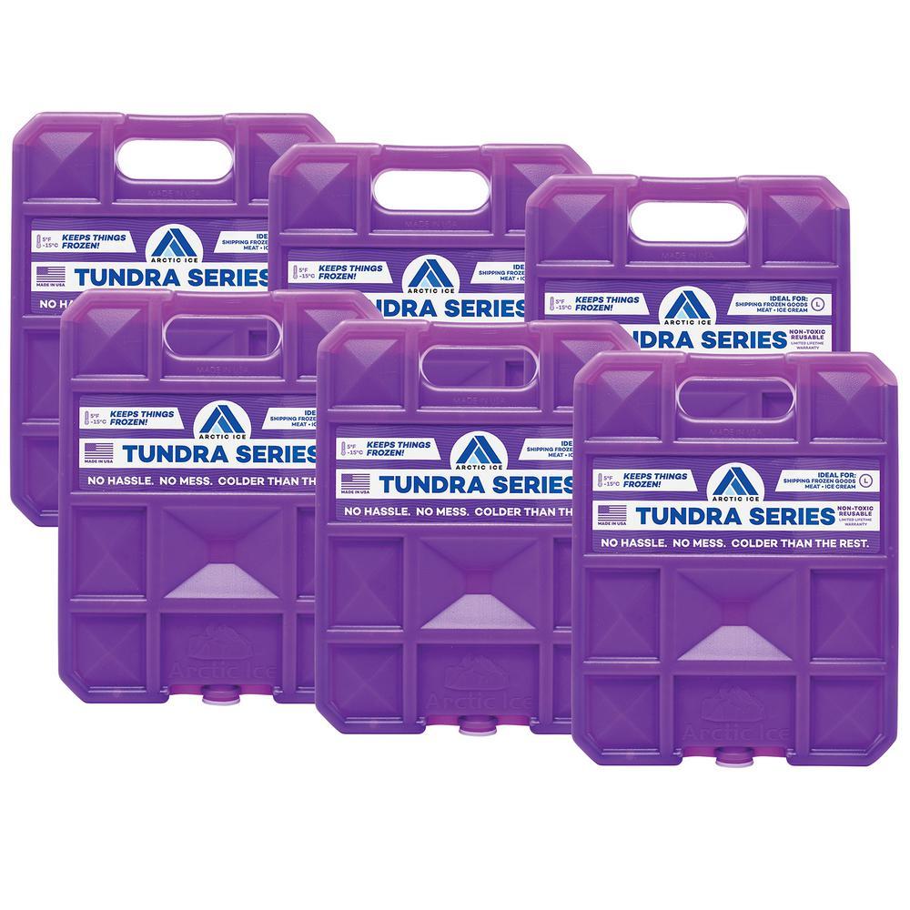 Tundra Series 5 lb. Freezer Pack 6-Pack