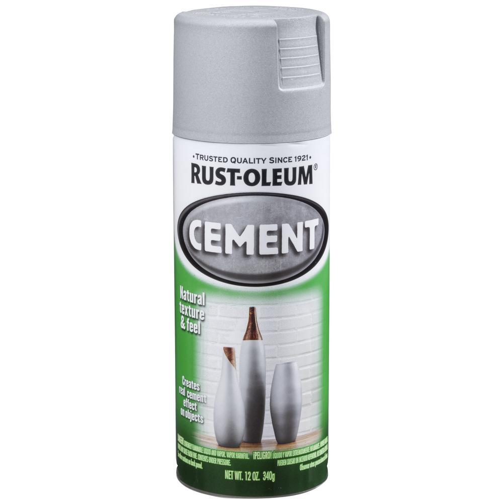 12 oz. Cement Spay Paint (6 Pack)