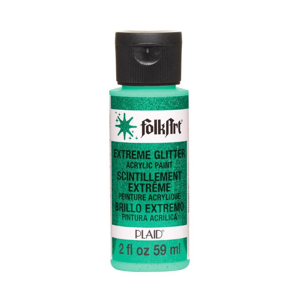 2 oz. Aqua Extreme Glitter Craft Paint