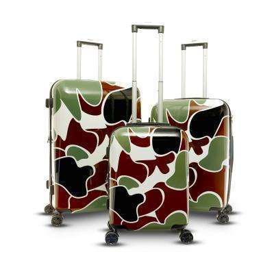 Camo Collection 3-Piece Hard Side Upright Spinner Set