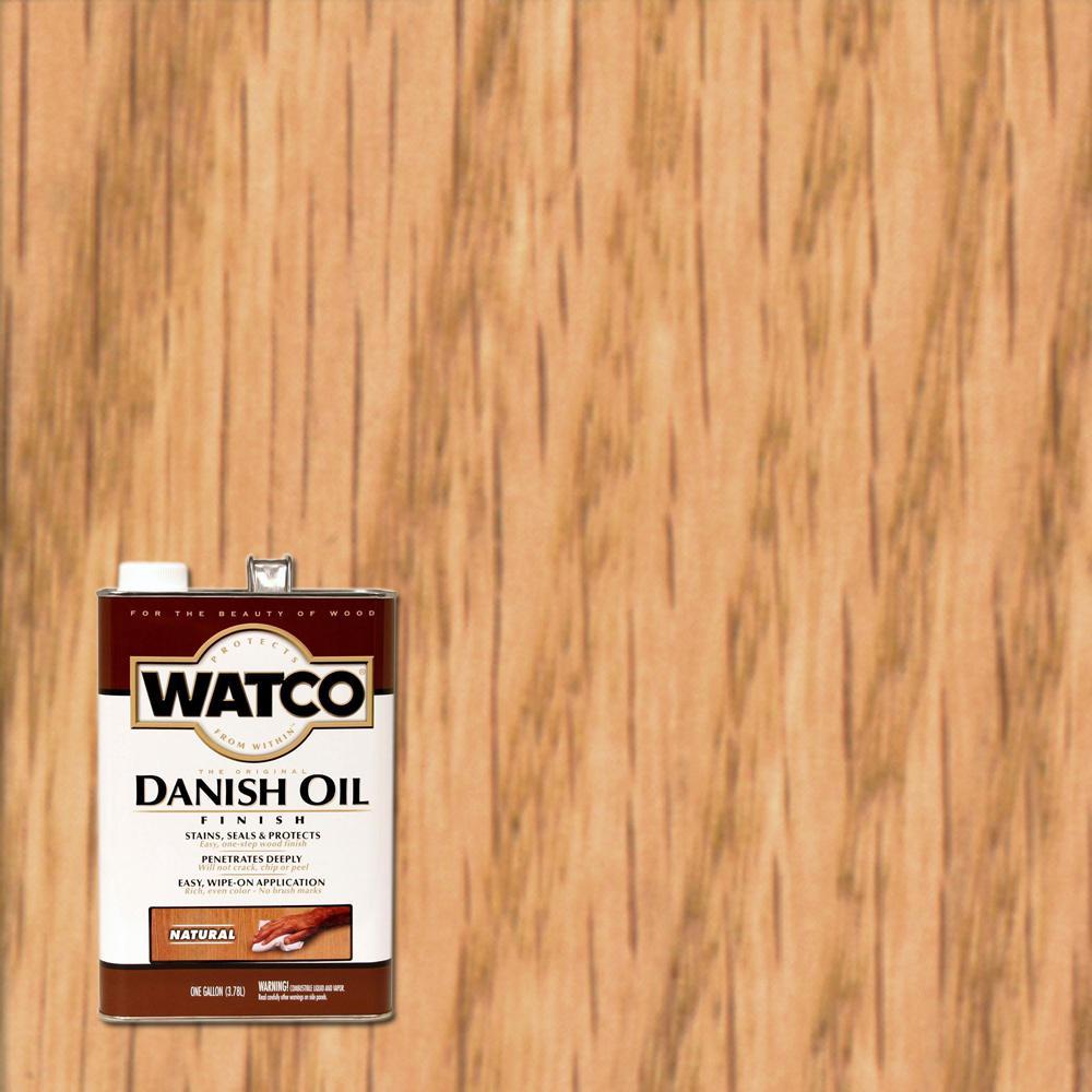 Watco 1 Gal Natural 350 Voc Danish Oil 2 Pack