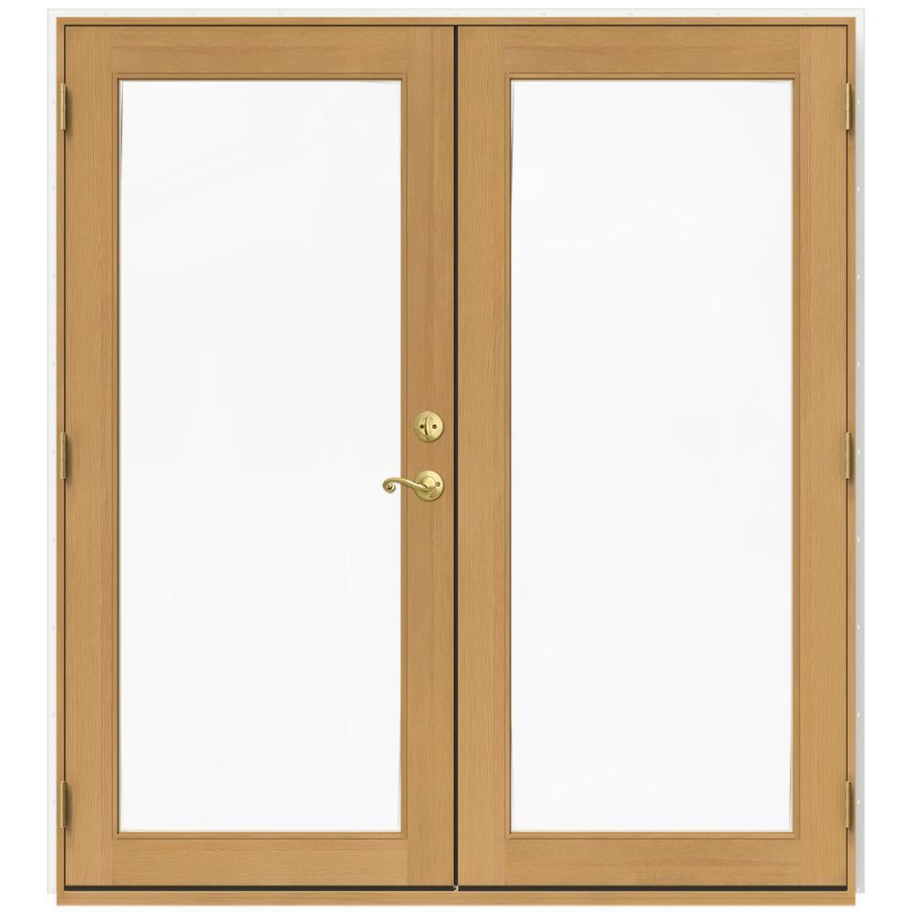 Jeld wen 71 5 in x 79 5 in w 2500 brilliant white right for Door 31 5 x 79