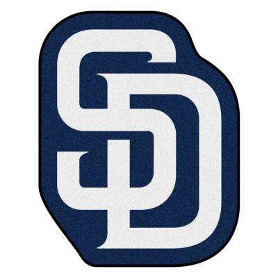 MLB - San Diego Padres 30 in. x 38.1 in. Indoor Area Rug Mascot Mat