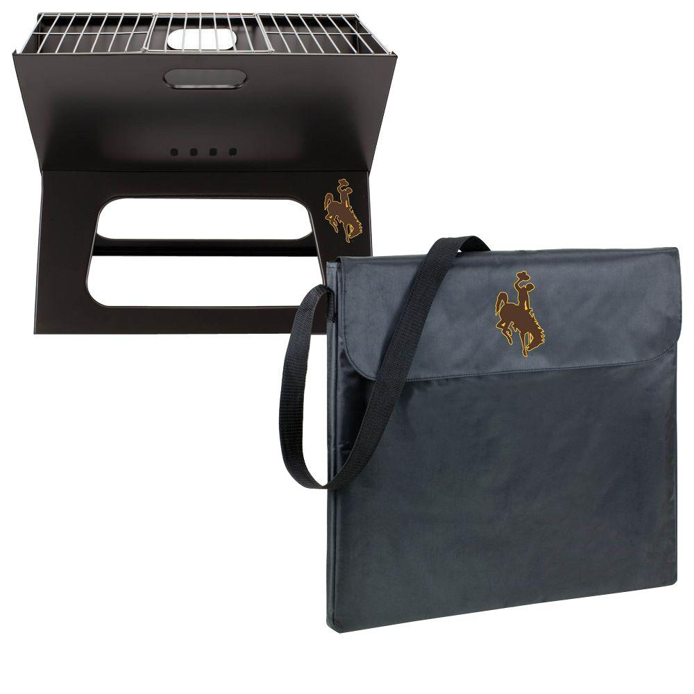 Wyoming Cowboys - X-Grill Portable Charcoal Grill