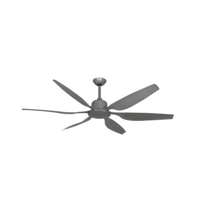 Titan II 66 in. Indoor/Outdoor Brushed Nickel Ceiling Fan with Remote Control