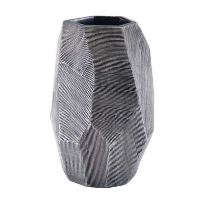 Gray Brick Small Decorative Vase