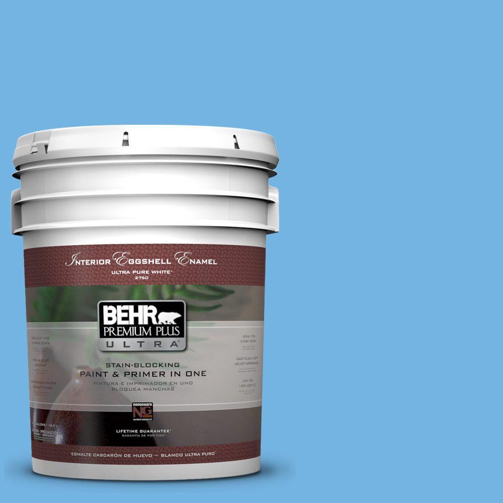 BEHR Premium Plus Ultra 5-gal. #P510-4 Electra Eggshell Enamel Interior Paint