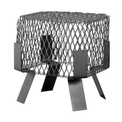 8 in. x 8 in. Spark Arrestor Bird and Squirrel Screen in Galvanized Black