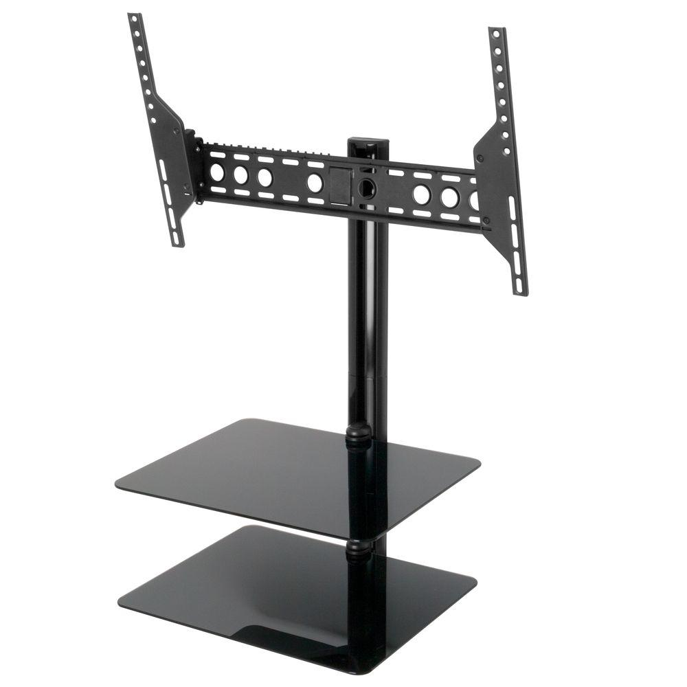 AVF Eco-Mount Tilt and Turn TV Mount with AV Shelving for 37-60 in. Screens for Flat Panel TVs and AV Components