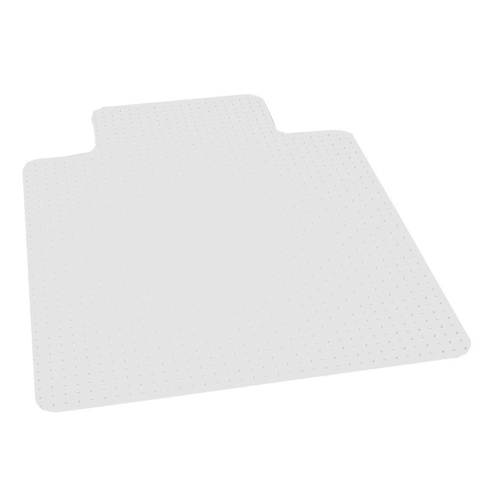 ES Robbins Performance Clear 45 in. x 53 in. Carpet Vinyl Chair Mat  sc 1 st  The Home Depot & ES Robbins Performance Clear 45 in. x 53 in. Carpet Vinyl Chair Mat ...