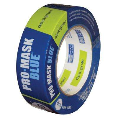 0.94 in. x 60 yds. ProMask Blue Designer Painter's Tape