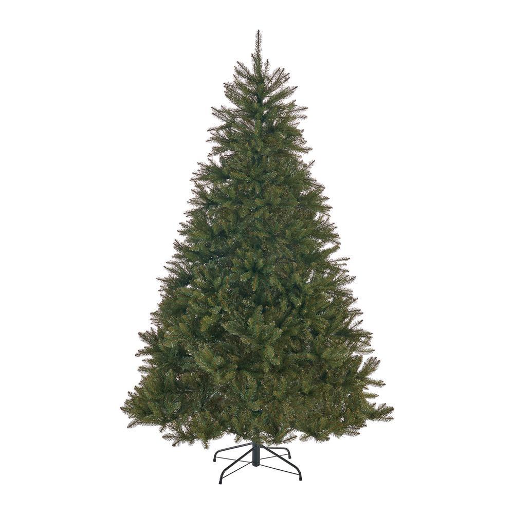 9 ft. Unlit Fraser Fir Hinged Artificial Christmas Tree