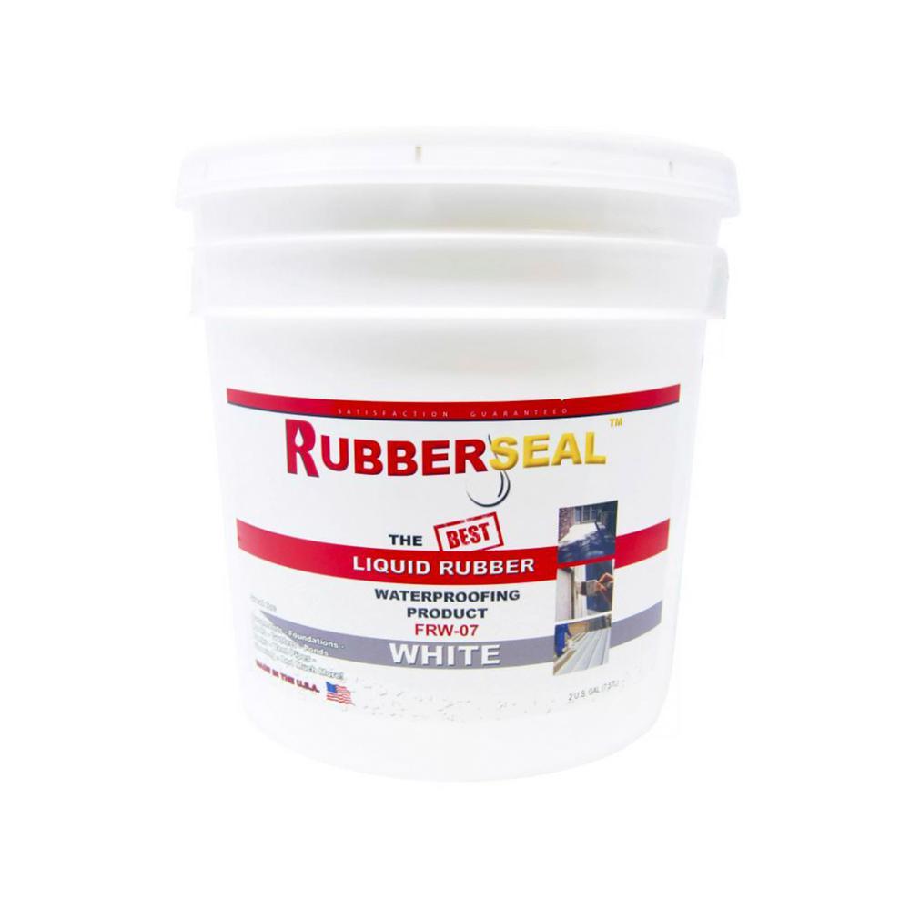 2 Gal. White Liquid Rubber