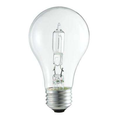 100W Equivalent Incandescent A19 Clear Light Bulb (24-Pack)