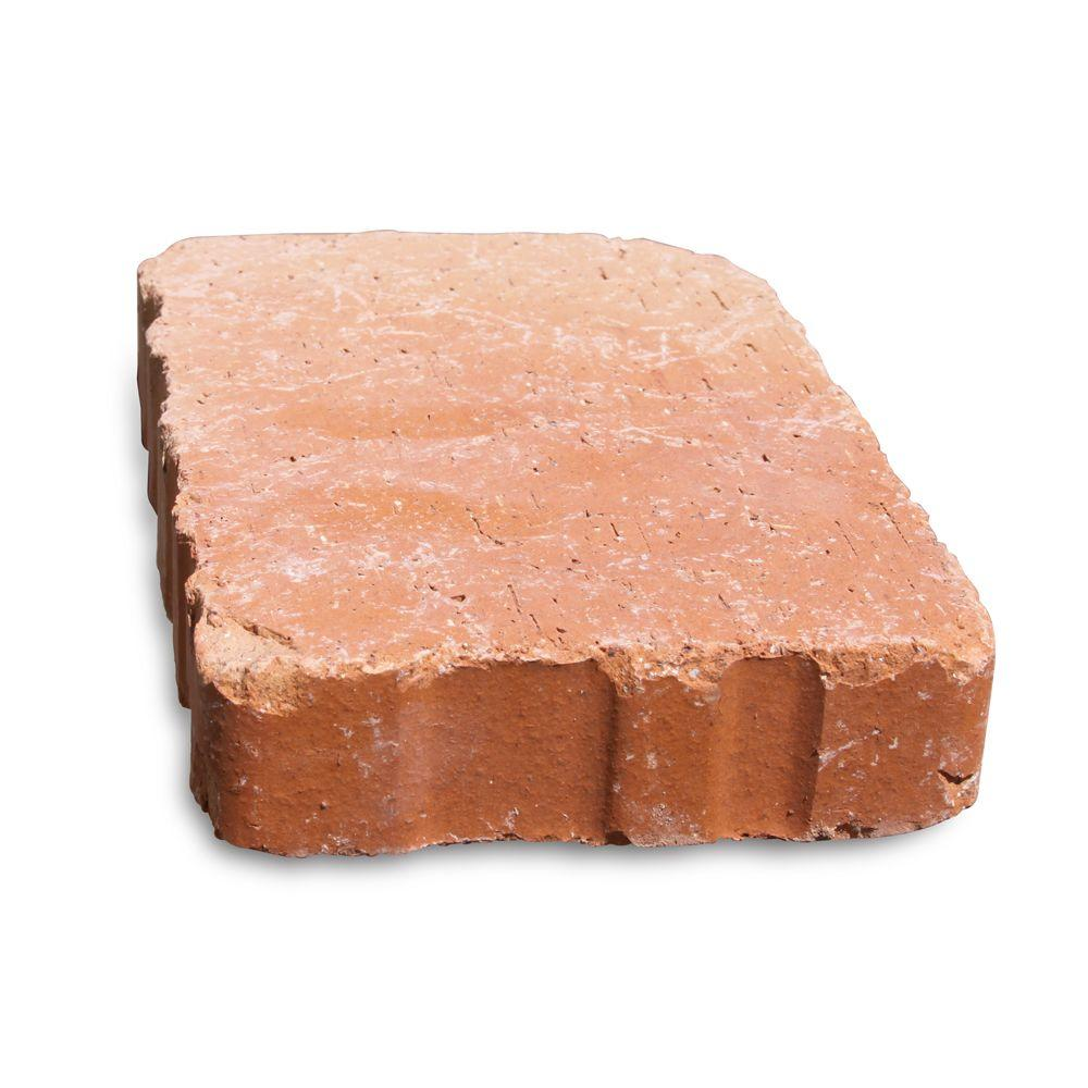 null Relic 9 in. x 6 in. x 1.63 in. Clay Saltillo Paver