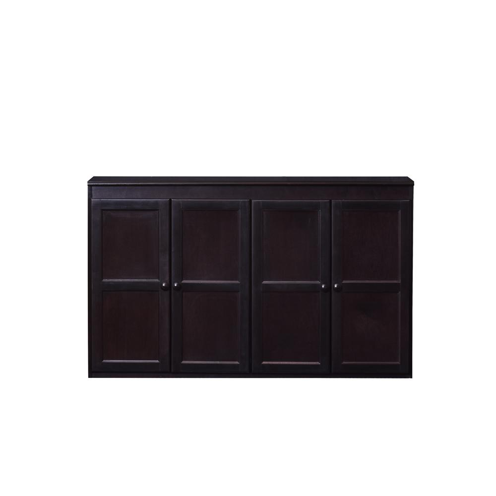 Multi Storage Espresso Storage Cabinet