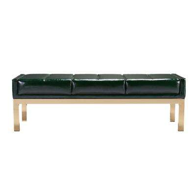 Cressida Green Mid Century Modern Decorative Bench