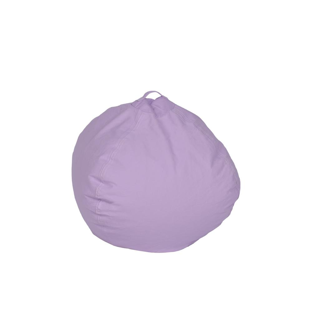 Violet Pink Cotton Bean Bag