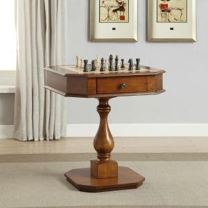 Acme Furniture Bishop Cherry Game End Table by Acme Furniture