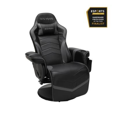 900 Racing Style Gaming Recliner, Reclining Gaming Chair, in Gray (RSP-900-GRY)