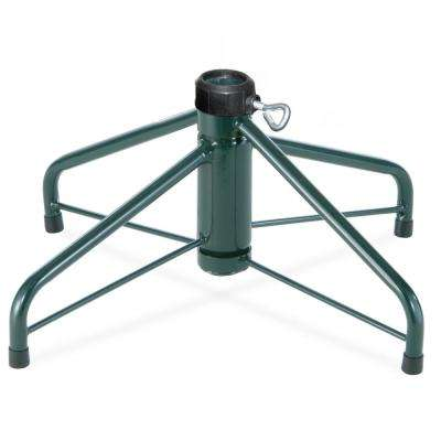 16 in. Folding Metal Tree Stand for 4 ft. to 6 ft. Trees with 1.25 in. Pole